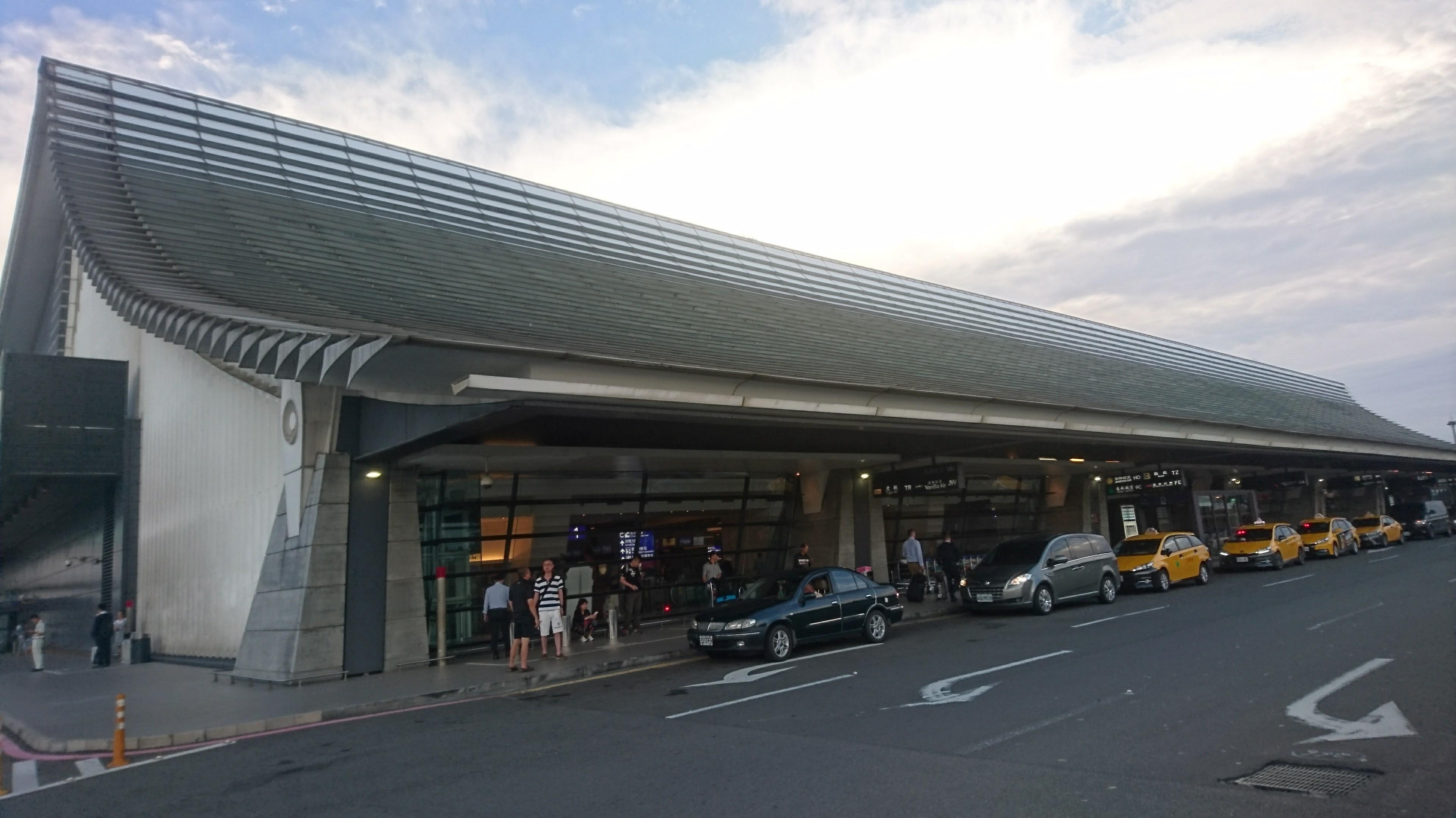 台湾桃園国際空港の第1ターミナル