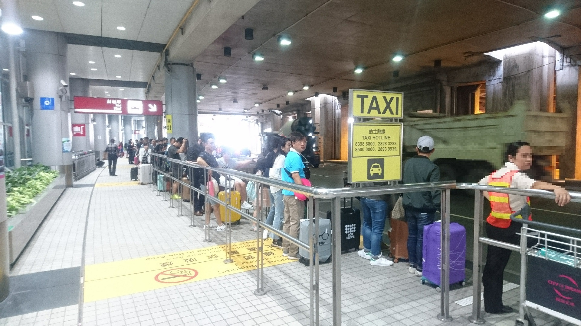 taxi(的士)