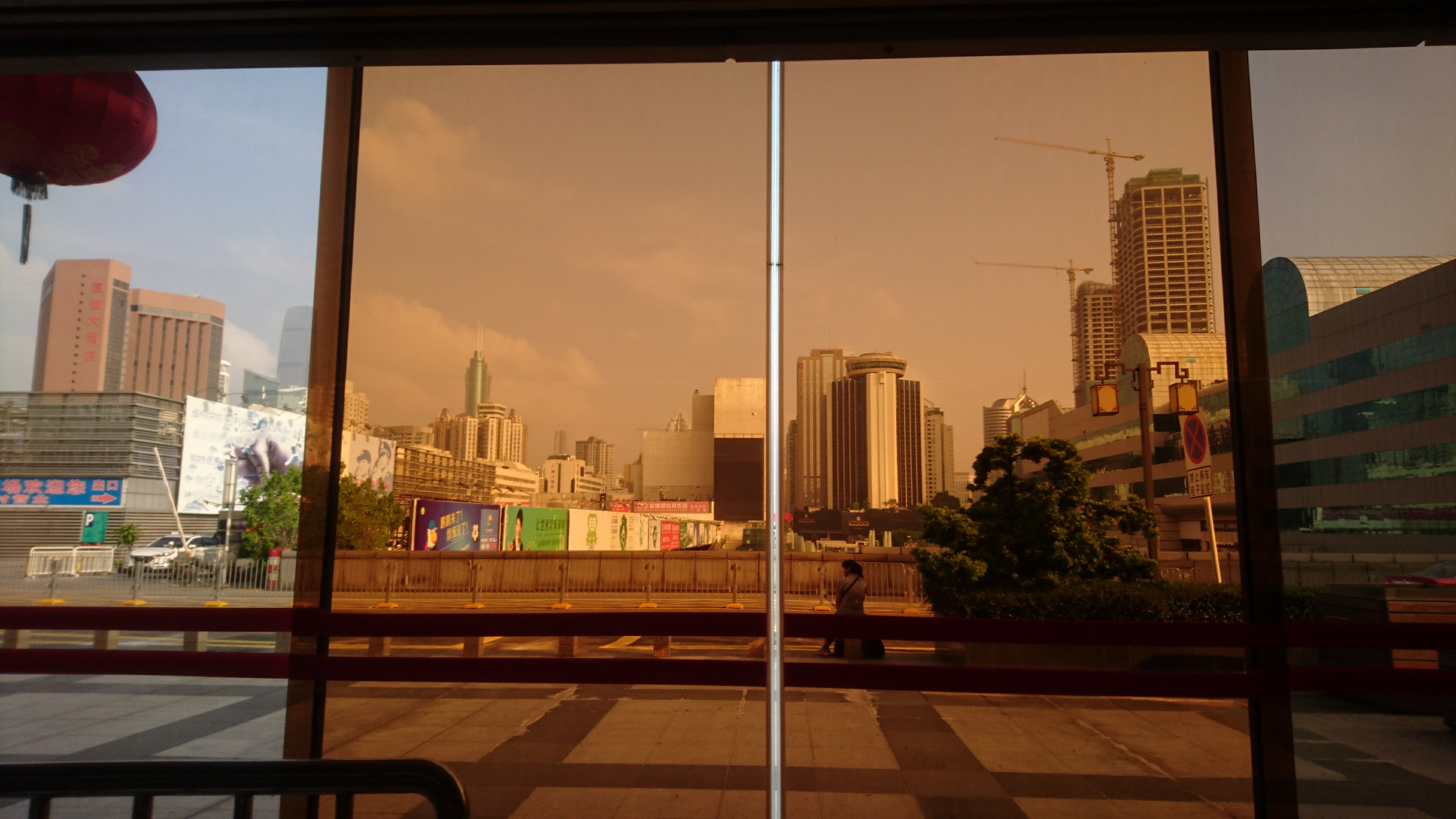 深圳の街の様子