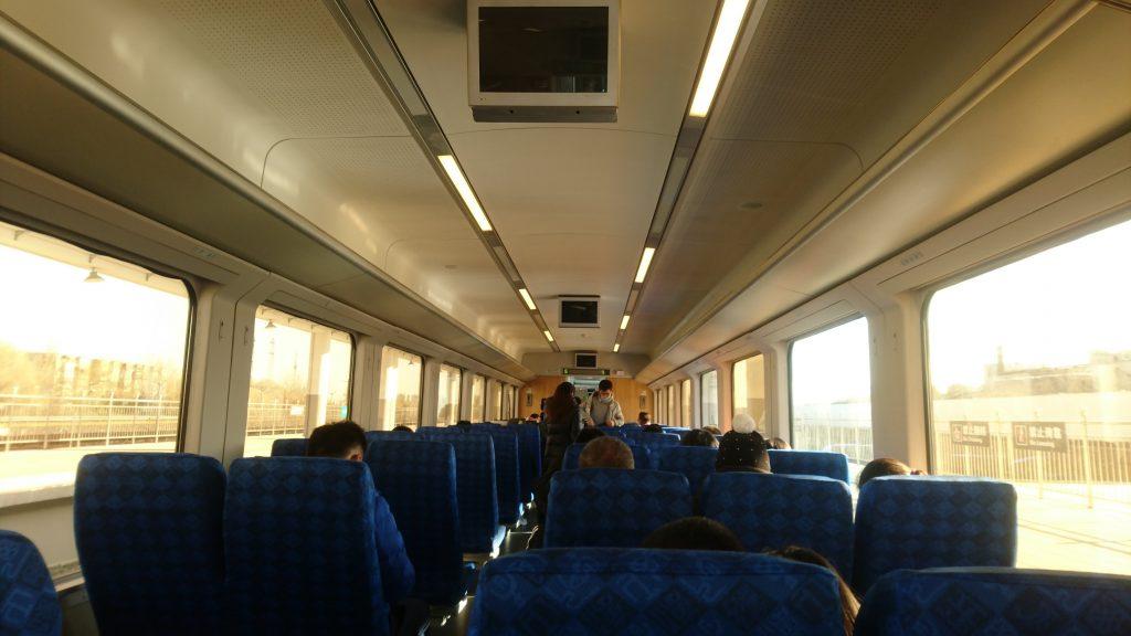 内装はほぼ新幹線